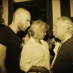 con Giorgio Albertazzi