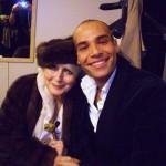 con Valentina Cortese