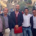 Con il sindaco di Buccheri Caiazzo,assessore alla cultura e vicesindaco